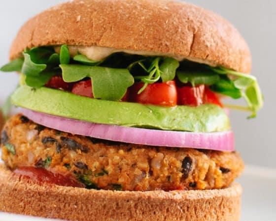 Burger Vegan au potimarron
